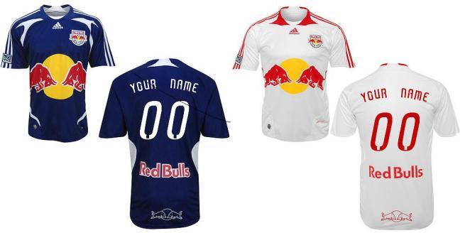 As novas camisas para 2009